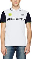 Hackett Men's Slim Fit Aston Martin Racing Wings Polo Shirt XL