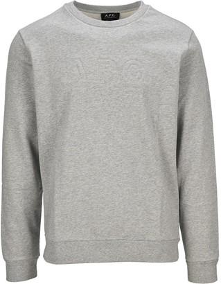 A.P.C. Logo Embossed Sweatshirt