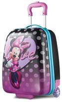 """American Tourister Disney Minnie Mouse 18"""" Hardside Rolling Suitcase By"""
