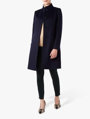Hobbs Mandy Wool Coat, Navy