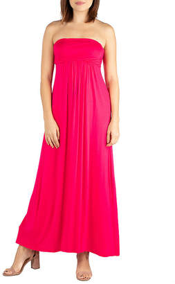 24/7 Comfort Apparel Sleeveless Maxi Dress