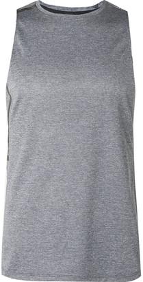 Lululemon Fast and Free Mesh Tank Top - Men - Gray