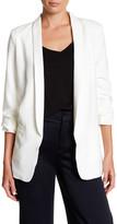Glamorous 3/4 Length Sleeve Crepe Blazer