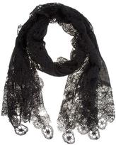 Faliero Sarti Netted pattern scarf