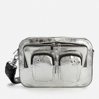 Nunoo Women's Ellie Metallic Cool Bag - Silver