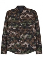 Valentino Camouflage-print Reversible Jacket