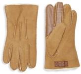 UGG Men's Contrast Sheepskin Touch Tech Gloves