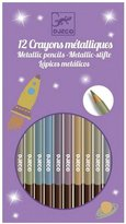 Djeco 8 Metallic Pencils Novelty