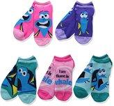 Disney Women's Finding Dory 5-Pack No Show Socks