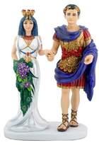 Summit Egyptian Cleopatra with Mark Antony Figurine