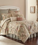 Rose Tree Biccari Vintage Floral & Geometric Reversible Comforter Set