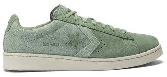 Converse Pro Leather Suede Trainers - Green