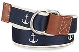 Daniel Cremieux Anchor Print Belt
