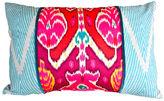 Kim Salmela Kiri 16x24 Cotton-Blend Pillow, Blue
