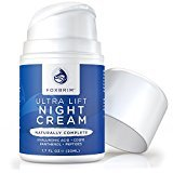 Fine Lines Ultra Lift Night Cream - 100% Advanced Anti-Aging Formula - Restore Youthful Skin With Premium Natural & Organic Ingredients - CoQ10, Panthenol, Peptides, Hyaluronic Acid - Foxbrim 1.7OZ