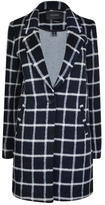 Maison Scotch Checked Coat