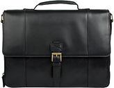 Hidesign Brunel Top Handle Briefcase, Black