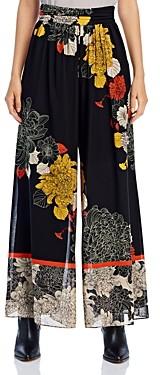 Kobi Halperin Claudia Flowy Floral Print Pants