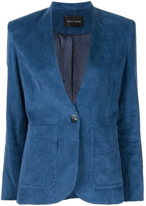 Nobody Denim Esoteric fitted blazer