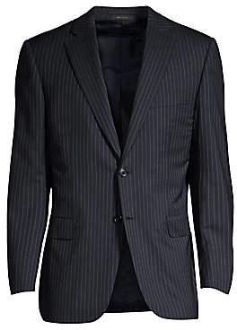 Brioni Men's Stripe Wool Jacket