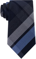 Kenneth Cole Men's Glacier Plaid Slim Tie