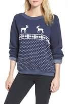 Wildfox Couture Snow Deer Sweatshirt