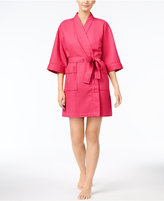 Charter Club Short Spa Waffle Robe, Only at Macy's