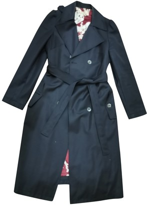 See by Chloe Black Cotton Trench Coat for Women