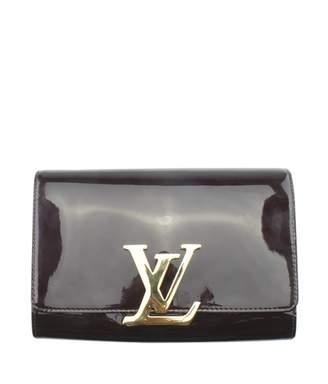 Louis Vuitton Louise Purple Patent leather Handbags