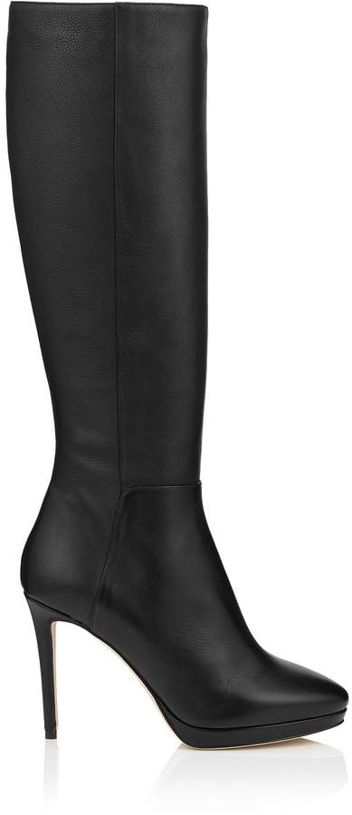 9ad61ea68bc0 Jimmy Choo Leather Sole Women s Boots - ShopStyle