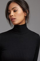Dynamite Long Sleeve Ribbed Turtleneck Top