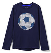 Classic Boys Active Graphic Tee-Pattern Fill Soccer