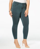Celebrity Pink Trendy Plus Size Infinite Stretch Overdyed Jeans