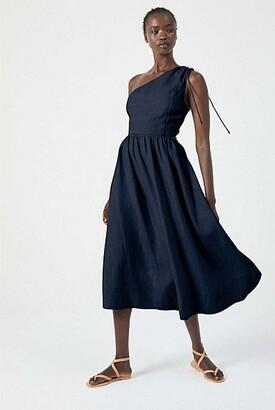 Witchery Asymmetric Cutout Dress