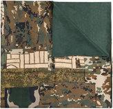 Pierre Louis Mascia Pierre-Louis Mascia camouflage print scarf