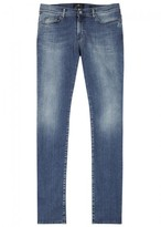 7 For All Mankind Ronnie Luxe Performance Slim-leg Jeans