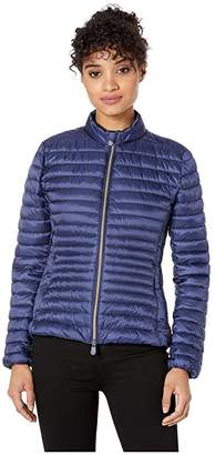 Save The Duck Non Hooded Basic Jacket (Navy) Women's Clothing