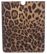 Dolce & Gabbana Animal Print iPad Case