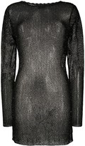 Alanui sequined knitted dress