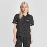 Stars Above Women's Geo Print Simply Cool Short Sleeve Button-Up Shirt - Stars AboveTM