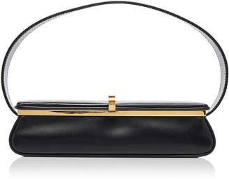 Victoria Beckham Powder Box Leather Top Handle Bag