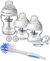 Tommee Tippee Closer to Nature Sensitive Tummy Starter Pack with Bottle Brush