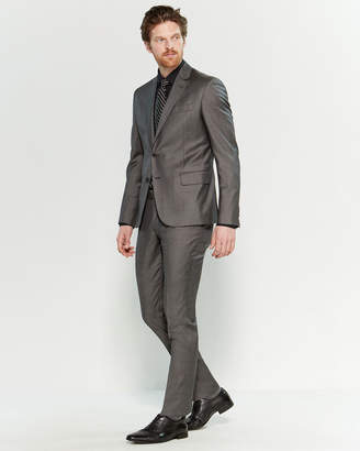 Roberto Cavalli Two-Piece Grey Slim Fit Suit