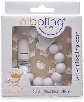 Nibbling Royal Crown Dummy Clips