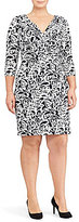 Lauren Ralph Lauren Plus Paisley-Print Jersey Dress