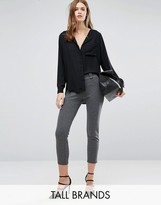 Vero Moda Tall Cropped Tailored Pant