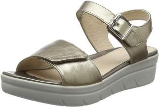 Stonefly Women's Aqua III 2 Laminated Ankle Strap Sandals