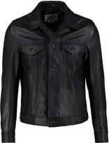 Schott Made In Usa 120 Leather Jacket Dark Navy