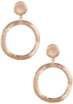 Rivka Friedman Organic Open Circle Drop Earrings