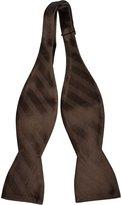 Notch Men's Silk Self-tie Bow Tie - SIGGE - Striped pattern i